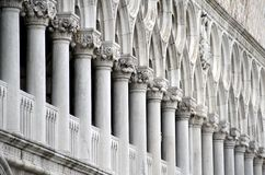 Pallace at St. Mark's square in Venice Stock Photo