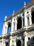 Palladian Basilica, Vicenza. Detail of Palladian Basilica in Vicenza, Italy Stock Photos