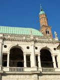 Palladian Basilica in Vicenza Stock Image