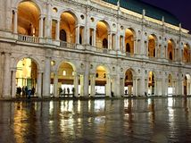 Palladian Basilica in Vicenza in Italy Stock Image