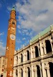 Palladian Basilica in Vicenza in Veneto Italy Stock Images