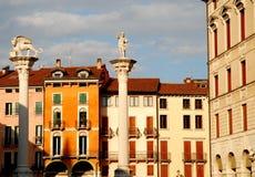 Palladian Basilica in Vicenza in Veneto Italy Stock Image