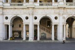 Palladian basilika Arkivbild