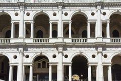 Palladian basilika Arkivfoto