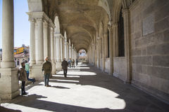 Palladian-Basilika Stockfoto