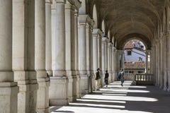 Palladian-Basilika Stockbild