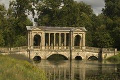 Palladian Bridge. A shot of a palladian bridge and lake Stock Image