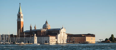 Palladian church, San Giorgio Maggiore, Venice Royalty Free Stock Photography