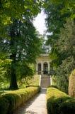 Palladian-Tempel am Landhaus Pisani Lizenzfreies Stockbild