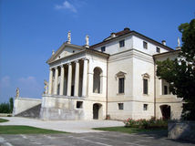 Palladian villa Stock Photos