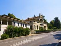 Palladian Villa at Stra. Palladian style villa at Stra on the Brenta Canal Stock Photography