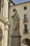 Palladio雕象在威岑扎 库存图片