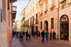 Palladio street, Vicenza Stock Image