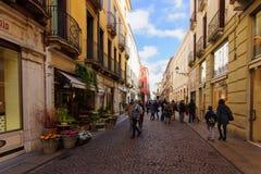 Palladio street, Vicenza Stock Photo