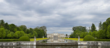 Palladio Villa near Venice Royalty Free Stock Photo