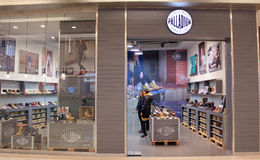 Palladium shop in hong kong Stock Image