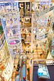 Palladium shoping wandelgalerij, Praag royalty-vrije stock foto's