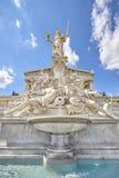 Pallas Athena fountain. Stock Photos