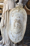 Pallas Athena, roman sculpture, Palace House of Pilate, Sevilla, Spain Stock Photo