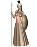 Pallas Athene stock illustratie