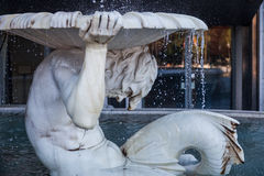Pallas Athene fountain detail Royalty Free Stock Photo