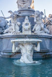 Pallas Athene fountain Royalty Free Stock Image