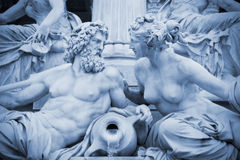 Pallas-Athene fountain Vienna Royalty Free Stock Photos
