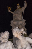 Pallas Athene fountaine Stock Photos