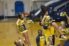 Pallavolo 2015 del NCAA - Virginia Occidentale del Texas @ Immagine Stock