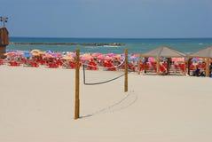 Pallavolo della spiaggia Immagine Stock Libera da Diritti