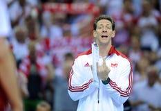 Pallavolo di FIVB Polonia Brasile Immagini Stock