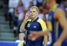 Pallavolo di FIVB Polonia Brasile Fotografia Stock