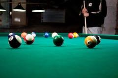 Palle da biliardo/foto d'annata di stile dall'palle da biliardo dentro Fotografie Stock Libere da Diritti