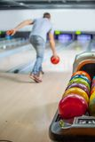 Palle da bowling. Fotografia Stock