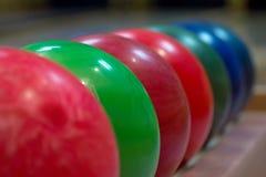 Palle da bowling Immagine Stock Libera da Diritti