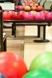 Palle da bowling Fotografia Stock