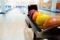 Palle da bowling Immagine Stock