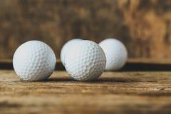 Palle da golf Fotografia Stock