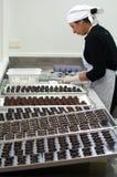Palle del cioccolato Fotografie Stock Libere da Diritti