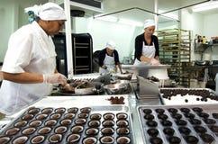 Palle del cioccolato Fotografia Stock
