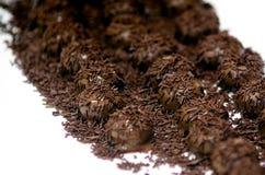 Palle del cioccolato Fotografie Stock