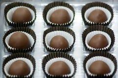 Palle del cioccolato Fotografia Stock Libera da Diritti