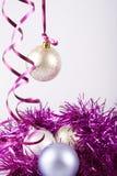 Palle del nuovo anno Immagine Stock Libera da Diritti