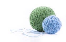 Palle della lana Fotografia Stock Libera da Diritti