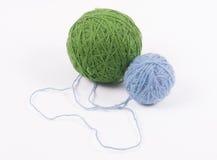 Palle della lana Immagini Stock