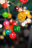 Palle della lanterna Immagini Stock
