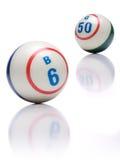Palle di bingo Immagini Stock Libere da Diritti