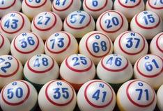 Palle di bingo Fotografia Stock