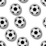 Palle di calcio Fotografia Stock Libera da Diritti
