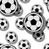 Palle di calcio Immagine Stock Libera da Diritti